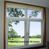 Marco de aluminio de cristal de ventana (toldo ventana de vidrio) fabricantes de diseño