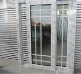 A tenuta d'acqua di vendita calda/insonorizzati ampiamente usati/Calore-Isolano la finestra di scivolamento del PVC con la griglia