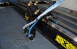 China barata máquina láser Grabado láser de CO2 de madera contrachapada de MDF para botella de vidrio acrílico