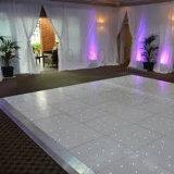 Superficie blanca los 60X60cm del LED Dance Floor