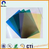 Strato rigido materiale del PVC della radura del coperchio del grippaggio del PVC della plastica