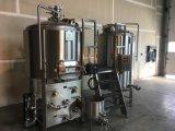 500L dirigem a micro maquinaria usada do equipamento da cervejaria para a venda