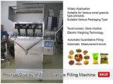 Gewichtung der Schuppen-Füllmaschine für Erdnüsse in den Beuteln