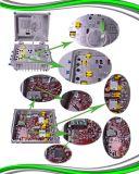 복귀 경로를 가진 CATV 4 방법 산출 섬유 광학적인 마디