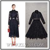 Платье втулки шнурка женщин одеяния конструктора длиннее
