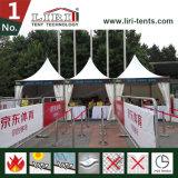 De waterdichte Tent van de Pagode van de Markttent van de Ontvangst van de Tent met Muren