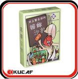 Cartões de jogo do jogo para crianças