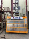 Construction Usage de palier de construction à cage simple avec section de mât galvanisé