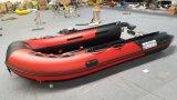 3,8 m 12,5 ft Canto barco inflável para operações de salvamento e barco salva-vidas ou luta uma inundação com marcação Cert.
