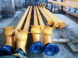مصنع إمداد تموين خرسانة [ميإكس بلنت] يستعمل [سكرو كنفور] ميّال إلى