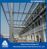 Fertighaus kundenspezifisches Stahlkonstruktion-Gebäude-Haus für Werkstatt