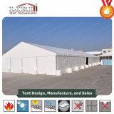 шатер хранения пакгауза 30X100m алюминиевый полупостоянный промышленный