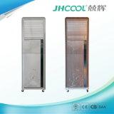 Fußboden, der Verdampfungsluft-Kühlvorrichtung-Kühlraum-Luft-Kühlvorrichtung steht