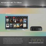 Франтовская коробка TV основанная на обработчике коркы A53 64bit рукоятки. изготовление на заказ Tvbox сердечника квада 1GB+32GB