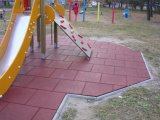 Kindgarten Playground Rubber Tiles Outdoor Rubber Tile Playground Rubber Flooring