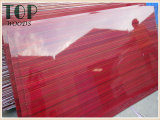 1220*2440 (4*8) contre-plaqué de faisceau de peuplier/bouleau/bois dur de 9/12/15/18mm blanc/de rouge/couleur de Brown polyester