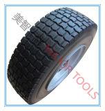 16X6.5-8 넓은 단면도 PU 거품 타이어 단단한 손 트롤리 바퀴