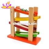 최고 형식 아이들 차 장난감 도매 W04e038를 위한 나무로 되는 대리석 실행