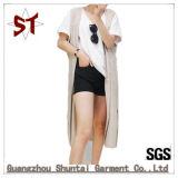 長様式Sleeveless Vest Coat OEMのカスタム優雅な女性