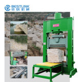 Máquina de rachadura do freio do bloco hidráulico