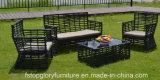 Mobilia esterna stabilita del nuovo di stile del rattan sofà del vimine 1+2+3