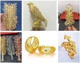 Máquina de carcaça rápida da jóia do ouro do metal precioso da carcaça