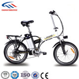 Lianmeiの電動機力の自転車のリチウム電池の折るバイク-完全な中断