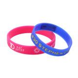 Tipo de jóias e Bangles braceletes ou tipo Bangles contendo tinta Debossed personalizados pulseiras de Silicone