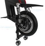 """12 """"アルミ合金フレームの黒都市電気移動性のスクーター"""