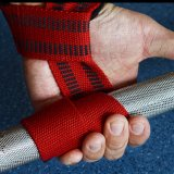 重量挙げのトレーニングの体操のグリップストラップの手首サポート上昇