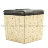 China Conjunto de acessórios de banho de resina de fábrica com acabamento em pedra mármore