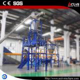 500 kg/h de residuos de alta calidad de lavado de máquina de reciclaje de Plástico PP PE