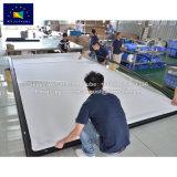 X-ybildschirme 150 Zoll gebogener örtlich festgelegter Rahmen-Projektions-Bildschirm-bester Kauf-Projektor-Bildschirm
