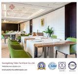 A mobília verde do restaurante da sala de jantar ajustou-se por Fabricante (YB-R-11)