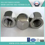 M5-M20 des noix Hex avec de l'acier du carbone