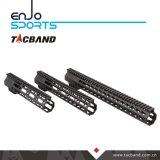 Composto della fibra del carbonio di Keymod Handguard della guida di Picatinny (G05K11)