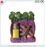 Resina personalizada frigorífico magneto com que desejem itens turísticas do vaso