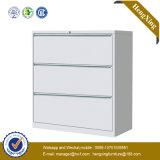 Puder-Beschichtung-Stahlmetallzahnstangen-Archivierungs-Metallschrank (HX-CC50)
