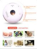 Le moniteur sec P2P de bébé d'appareil-photo d'IP de WiFi sans fil imperméabilisent l'appareil-photo sonore de télévision en circuit fermé de Vr d'ampoule de 2 voies