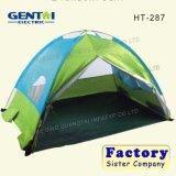 Tenda di campeggio mezza del coperchio di doppi strati