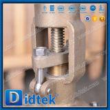 Volante Didtek extremos con bridas de acero inoxidable CF3m de la válvula de compuerta