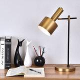 고대 청동에 있는 현대 장식적인 책상 테이블 램프, 호텔 침대 곁을%s, 거실, 침실