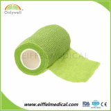 Échantillon gratuit auto-adhésif médical Sports Outdoor Bandage cohésif de bande