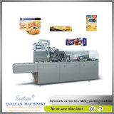 Polvo automático Caja de papel cartón selladora Máquina de embalaje