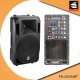 15 Spreker ps-3015MBT van de PA van de Echo van Bluetooth EQ van de FM van de duim 250W USB BR de Plastic Actieve