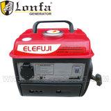 Elefuji portable 2HP Pequeña Gasolne generador 600W para uso doméstico
