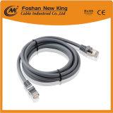 China Venta caliente Cable LAN cable UTP Cat5e de cable de red con conector F- 24 AWG