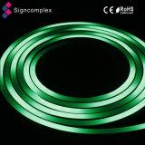 Digital 14,4W/M Full IP68 impermeável com mudança de cor Neon LED luz de Corda
