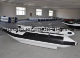 Liya 3.35-4.3m Inflatable Catamaran Fishing Boat