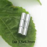 Magneet van het Neodymium van de Vorm van de cilinder de Permanente Gesinterde